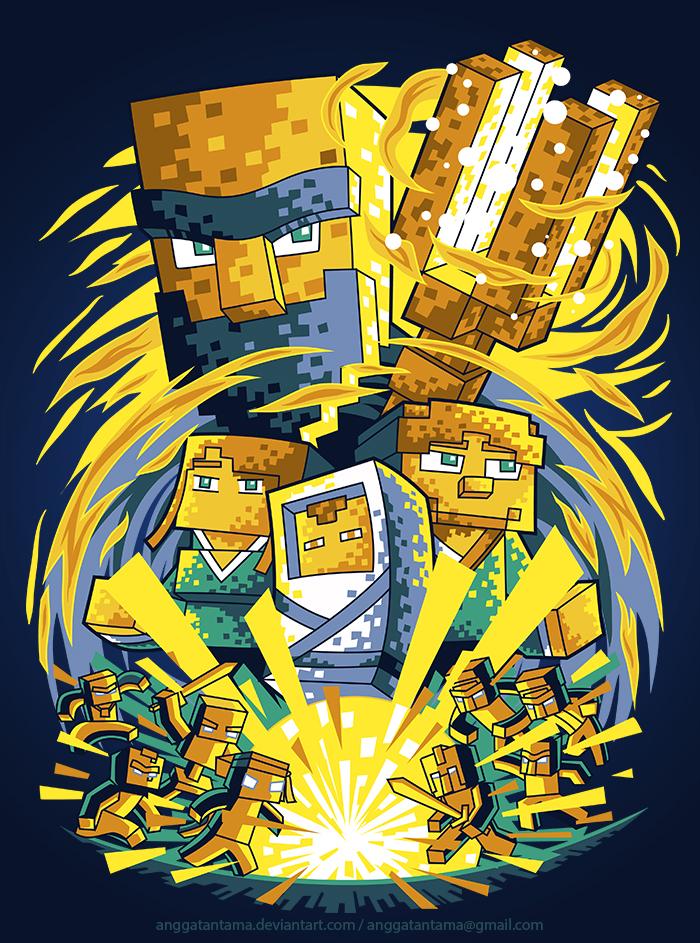 Minecraft Parody by anggatantama