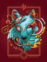 Electric Wolf by anggatantama