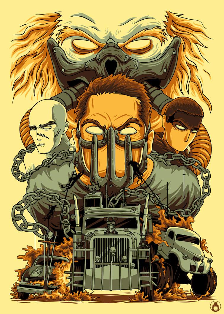 Mad Max by anggatantama