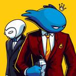 Bluboo in mafioso style by anggatantama