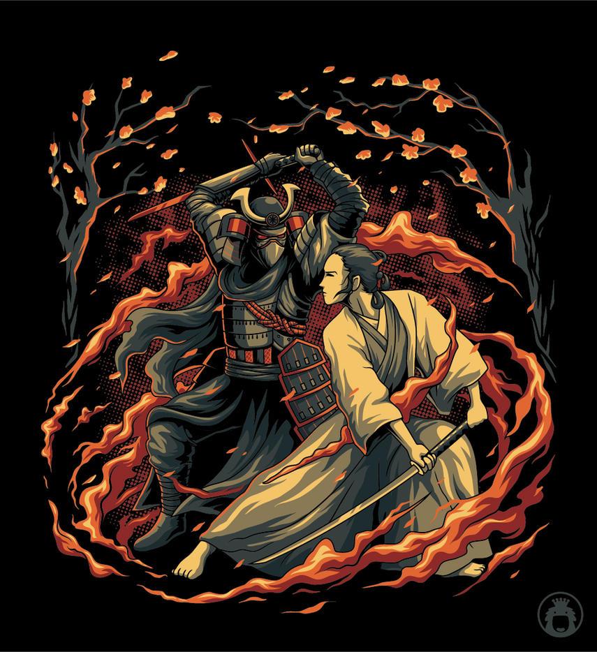 Samurai Wars by anggatantama