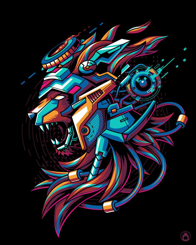 Liondroid by anggatantama