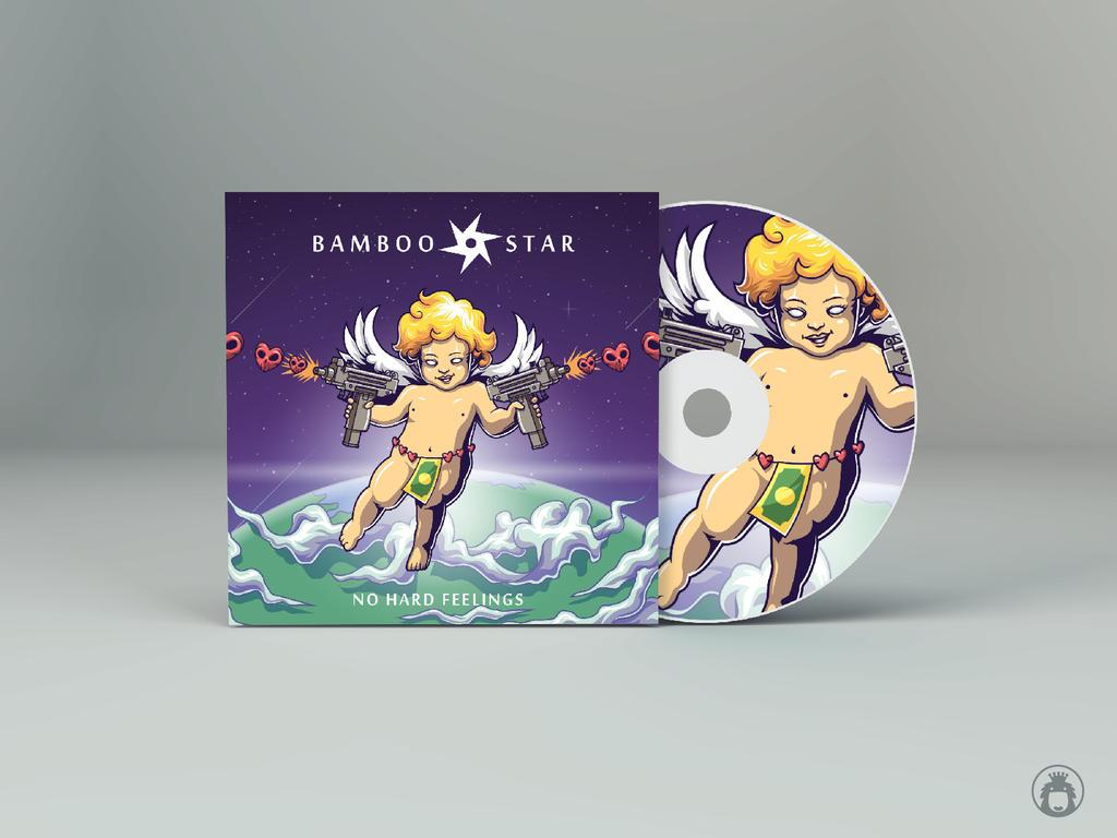 Bamboo Star Album Cover Art by anggatantama