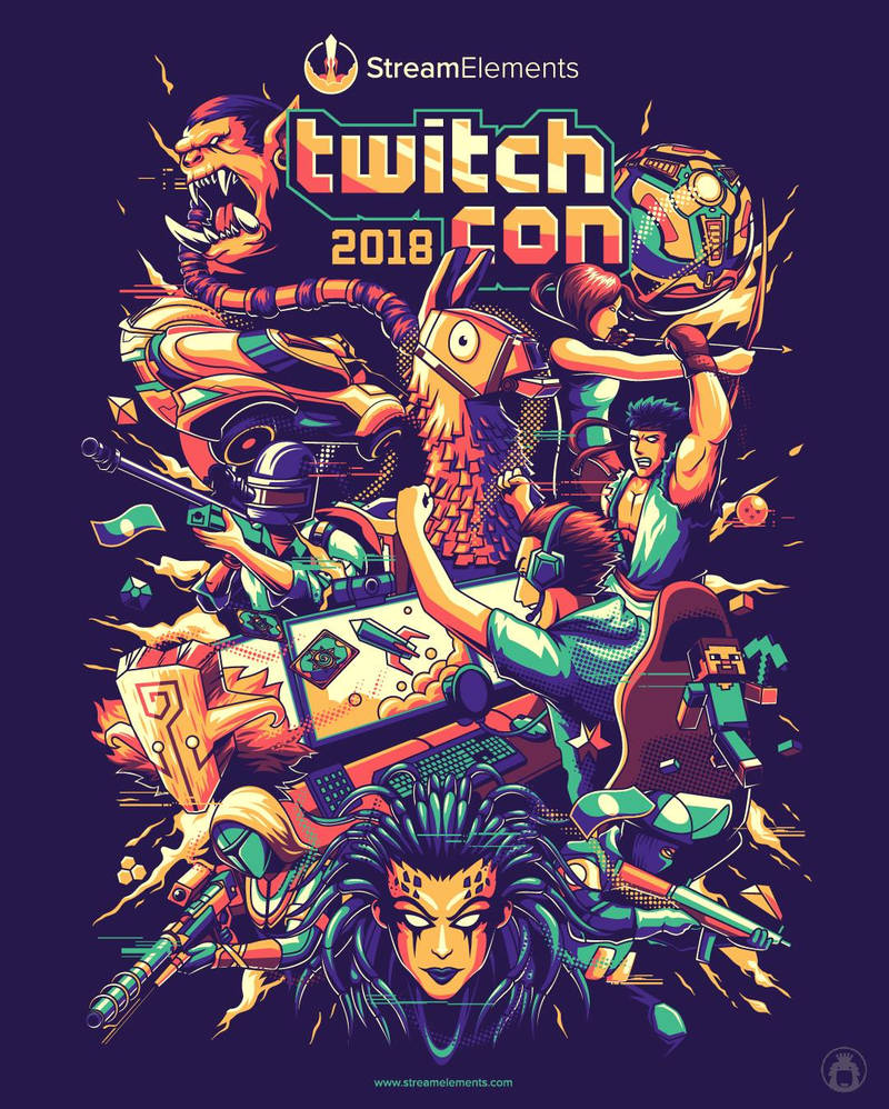 Stream Elements twitch con 2018 by anggatantama