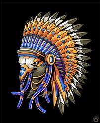 Indian Eagle by anggatantama