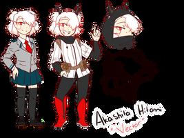 Akashita Hitomi (BNHA oc) by Beta-mei03