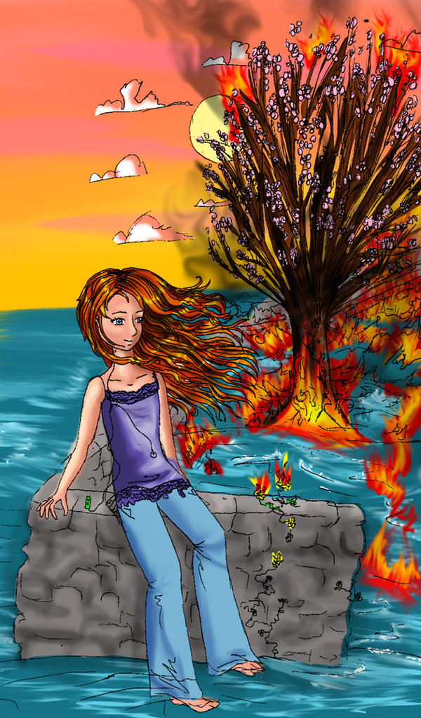 Sunburn by corelila