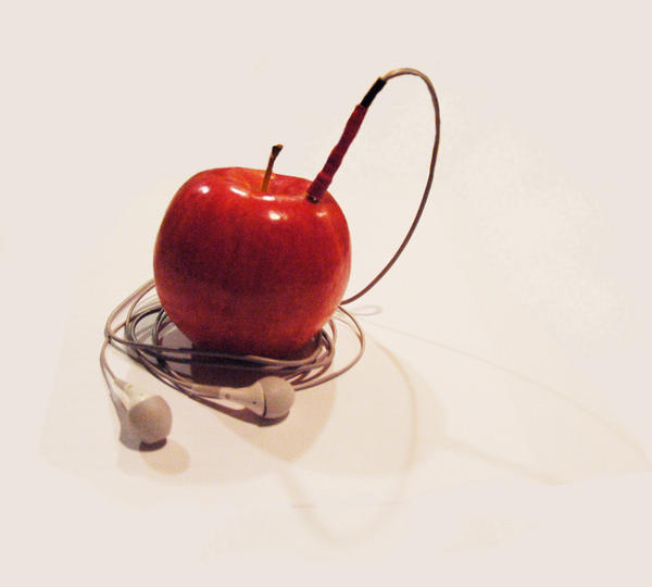I apple my ipod by corelila