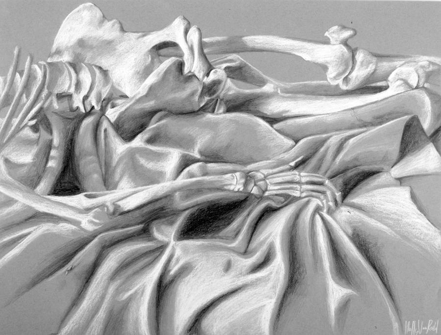 The skeleton 2 by corelila