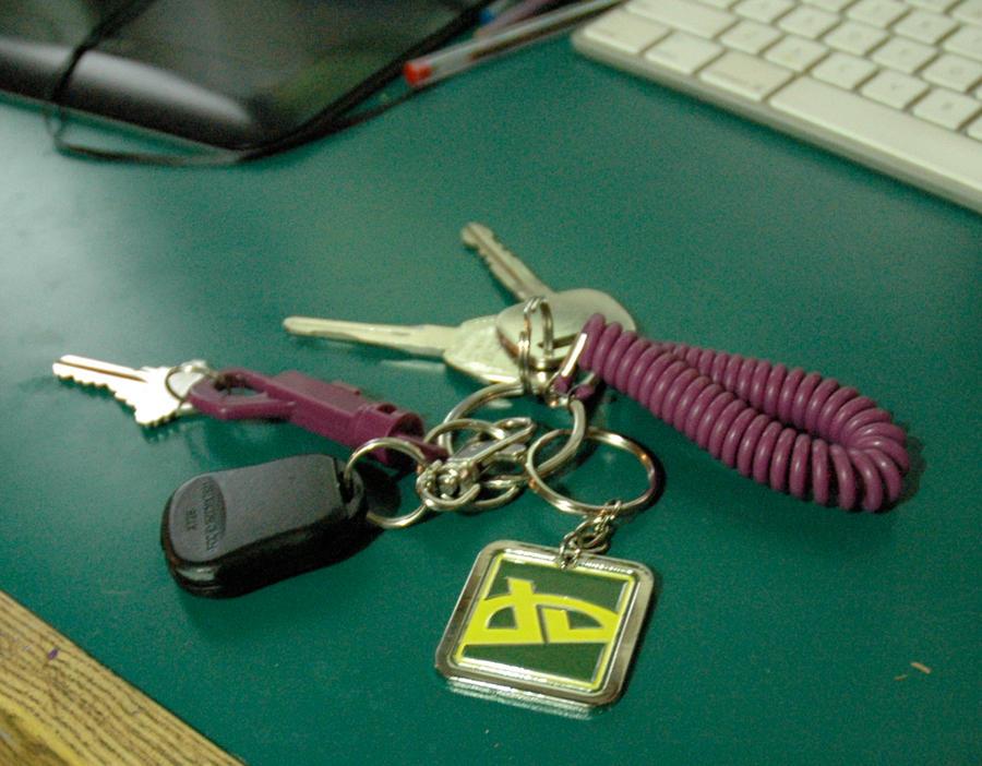 my new keychain by corelila