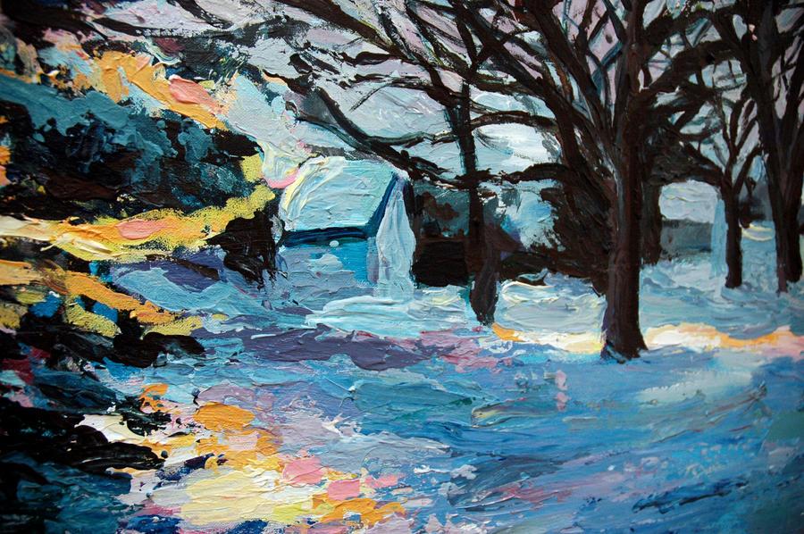 Detail 2 Impressionism by corelila