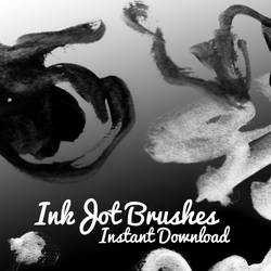 Ink Jot Brushes by corelila