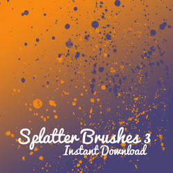 Splatter Brushes 2 by corelila