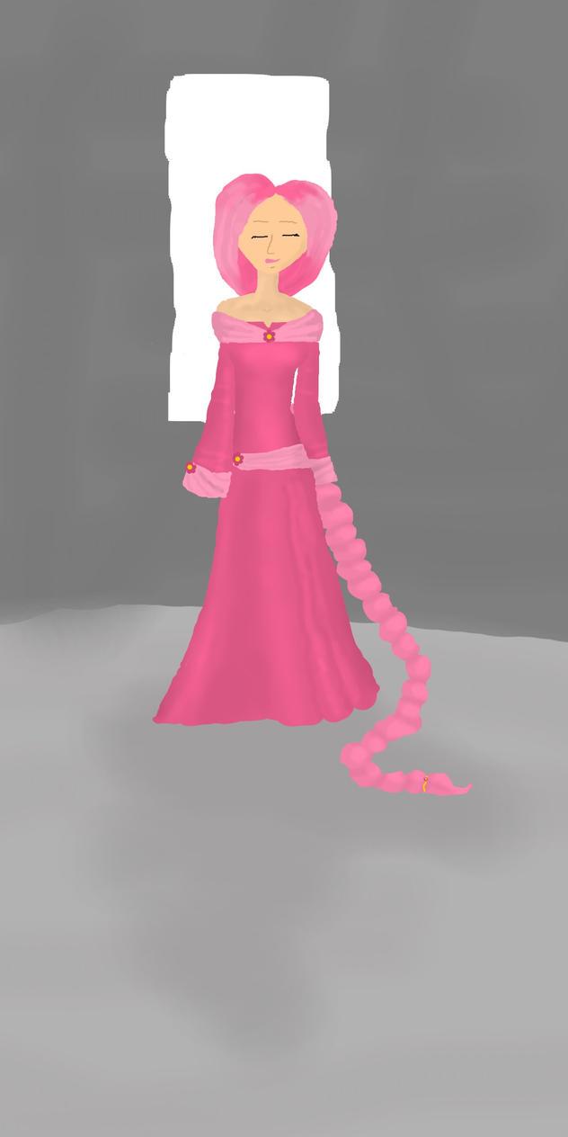 Rapunzel by corelila