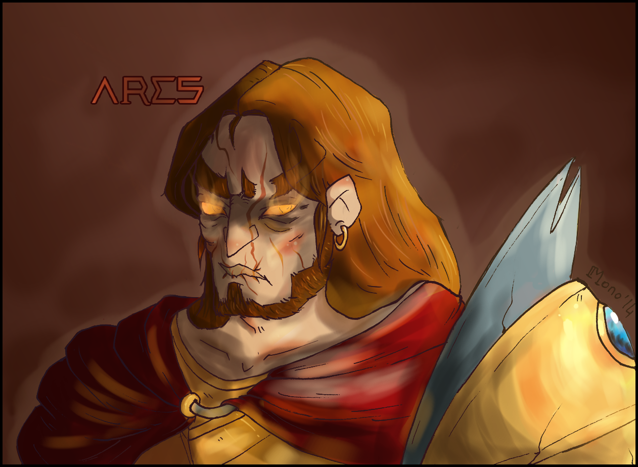 SMITE ARES WIP by TeHP1nkSh33p on DeviantArt