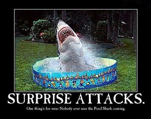 Shark attack by Jellisa773