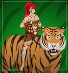 Jungle Pyrrha - Tribal RWBY by explodingcarr0t