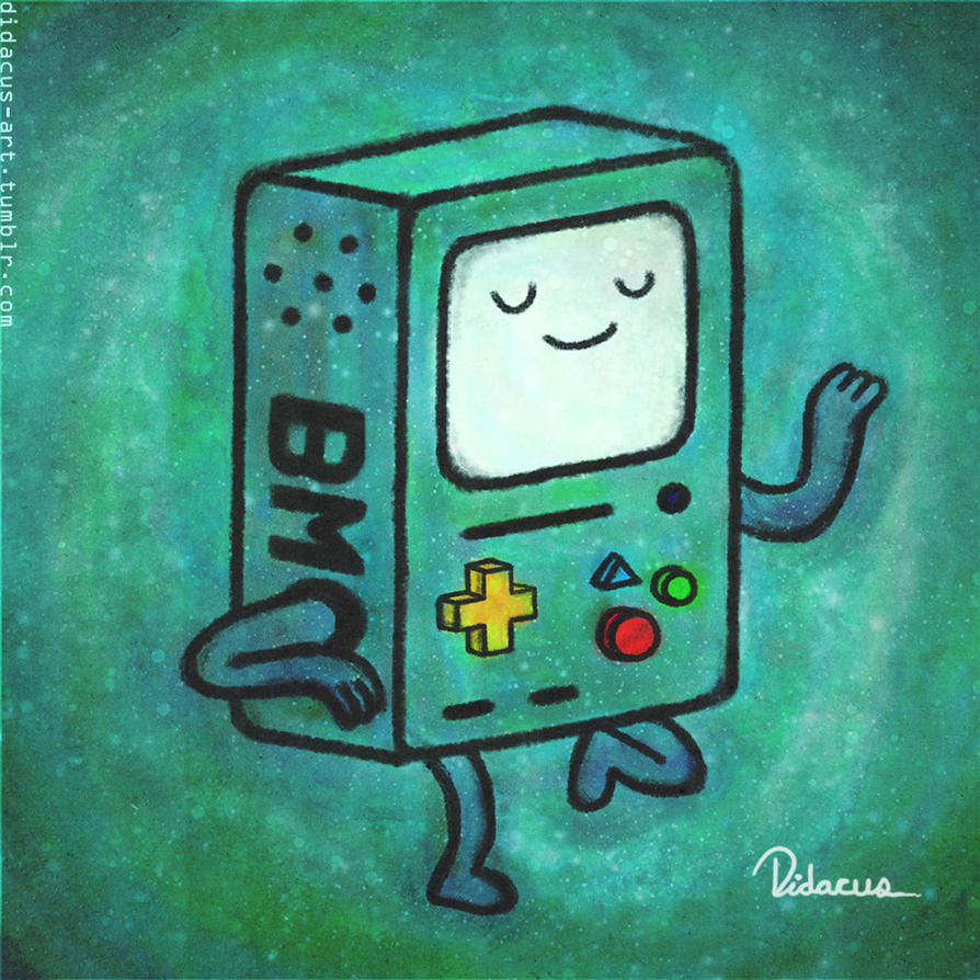 BMO dancing by Didacus518