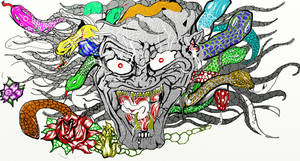 medusa's wrath by REYJAHDESIGNS