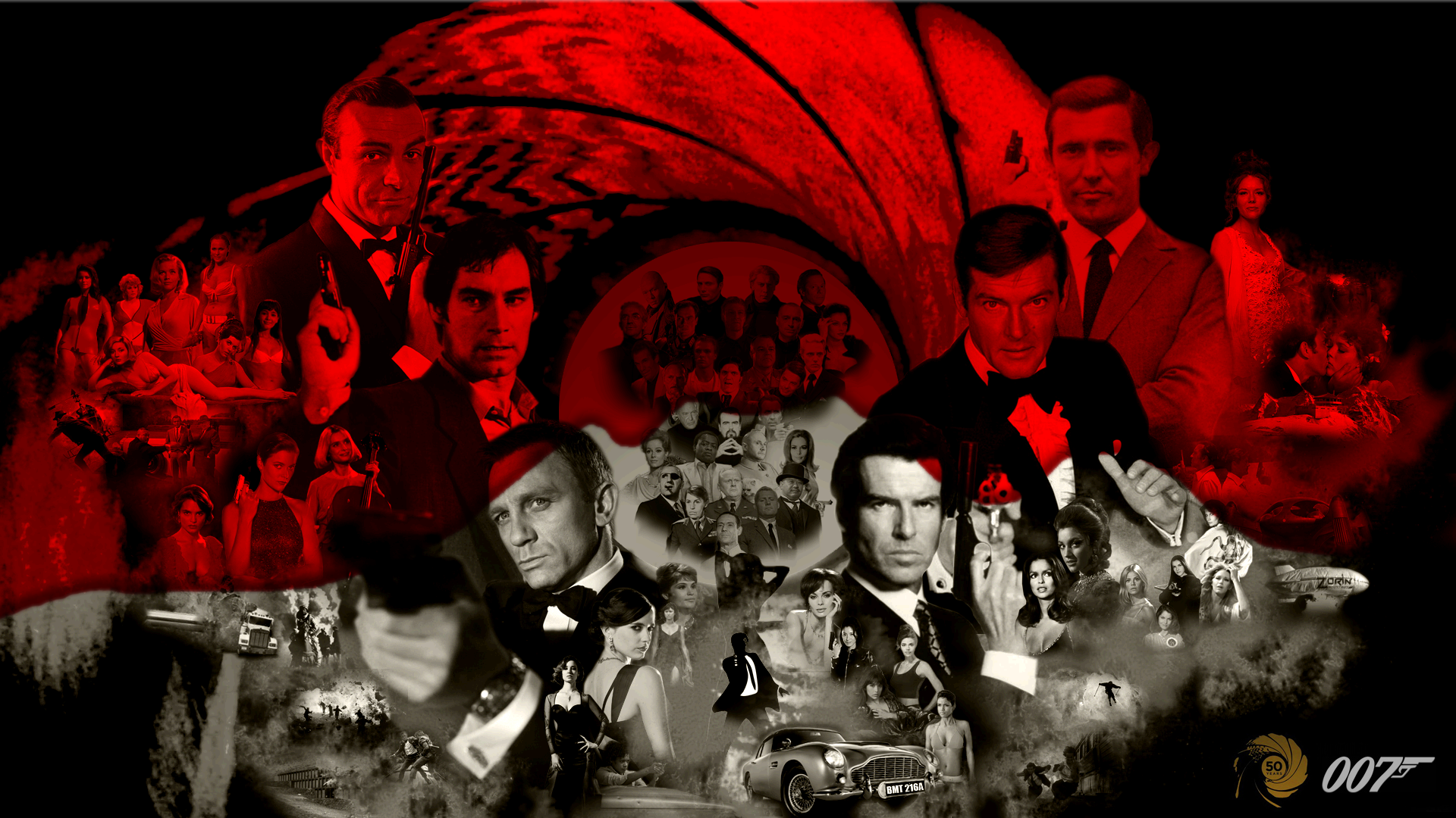 Wonderful Wallpaper Movie Collage - bond_50_anniversary_collage_by_the_hero_of_time28-d5kh5pa  Gallery_727755.png