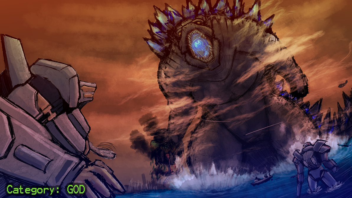 saw the new Godzilla movie A tad bit late  but it looks like Godzilla    Pacific Rim Vs Godzilla