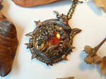 'In the Fall' - handsculpted Autumn pendant