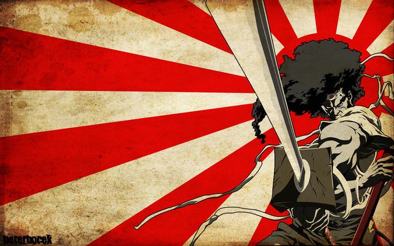 Afro Samurai 4 by santaemre