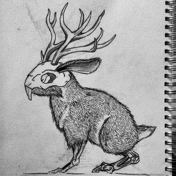 Rabbit-deer-zombie thi...