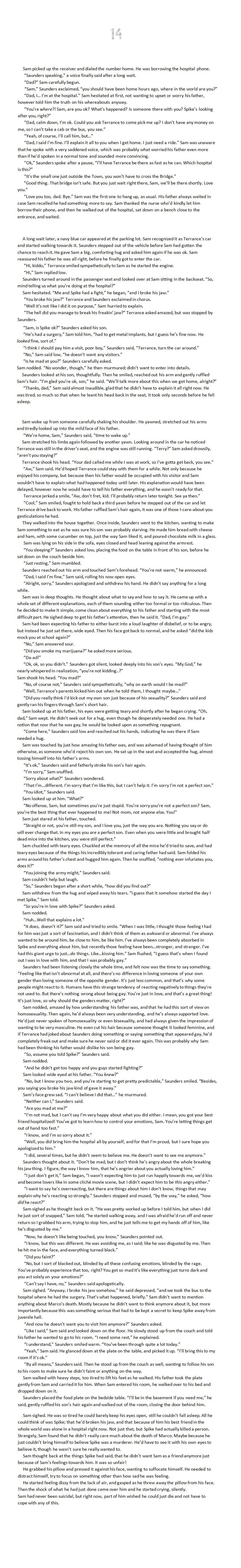 SPIKE - chapter 14 by oomizuao