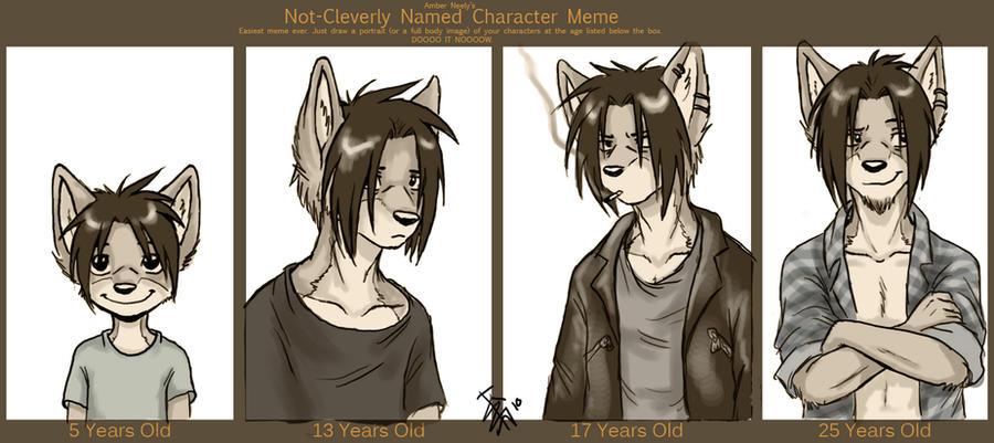 character meme - Spike by oomizuao