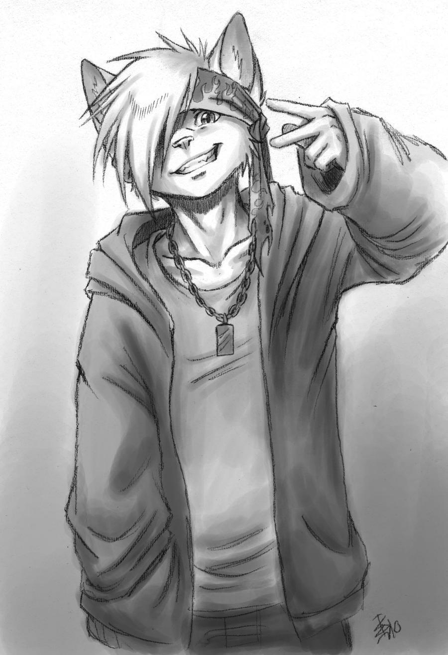 Ray - the wannabe gangsta by oomizuao