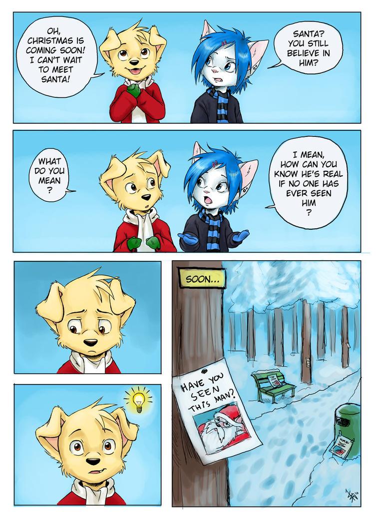 christmas comic - Sam by oomizuao
