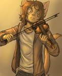 Artie and his violin