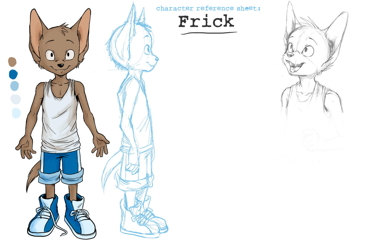 Frick ref sheet unfinished by oomizuao