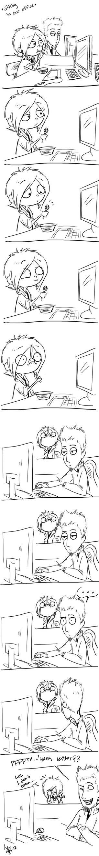 the spoon - comic