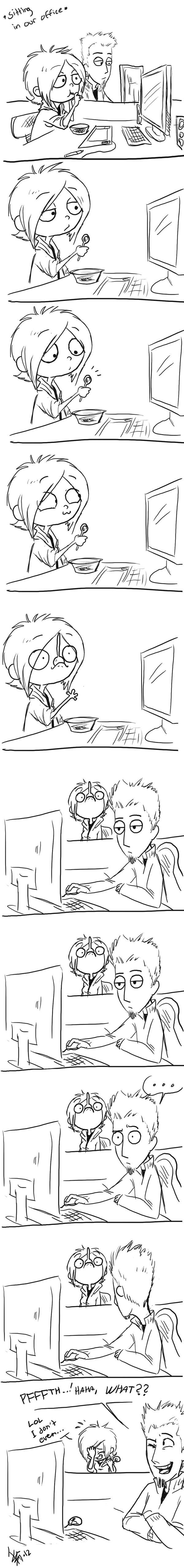the spoon - comic by oomizuao