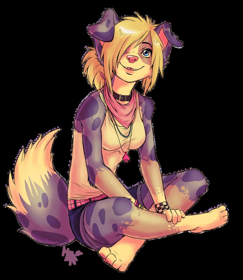 Jenna - gift art for Nekoshiba by oomizuao