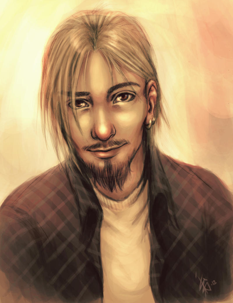 Saunders sketch - colored by oomizuao