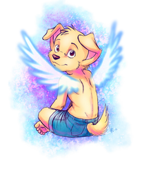 little angel Sam by oomizuao