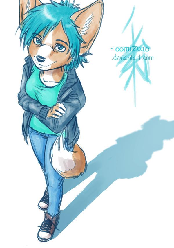 Corgi character by oomizuao