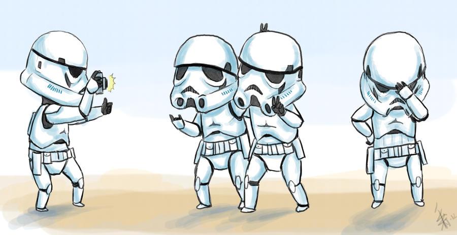 more Star Wars fanart by oomizuao