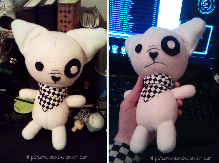 French Bulldog plushie by oomizuao