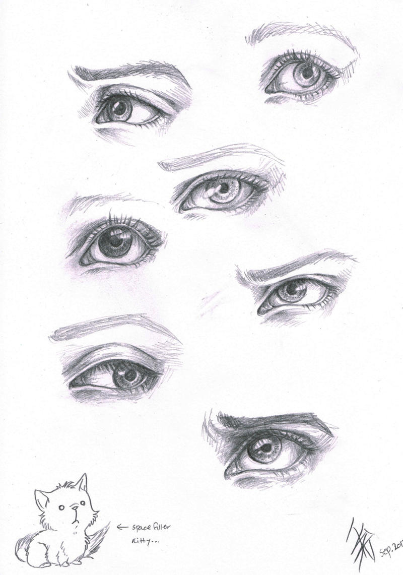 expressive eyes by oomizuao