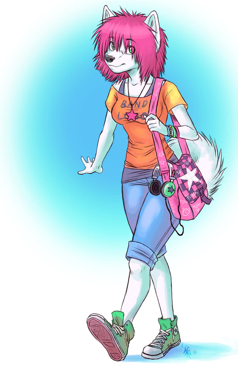 new random character by oomizuao
