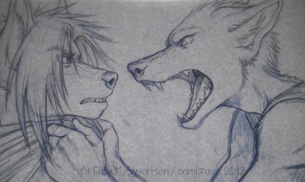 WIP - Spike and Charles by oomizuao