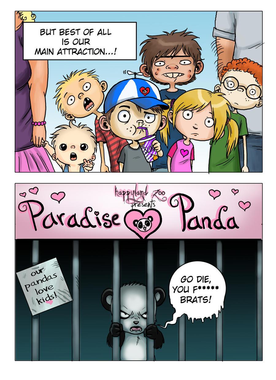 Paradise Panda - page 2 by oomizuao