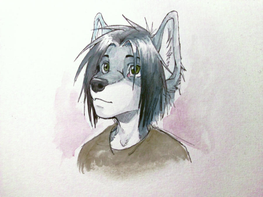testing out watercolors by oomizuao