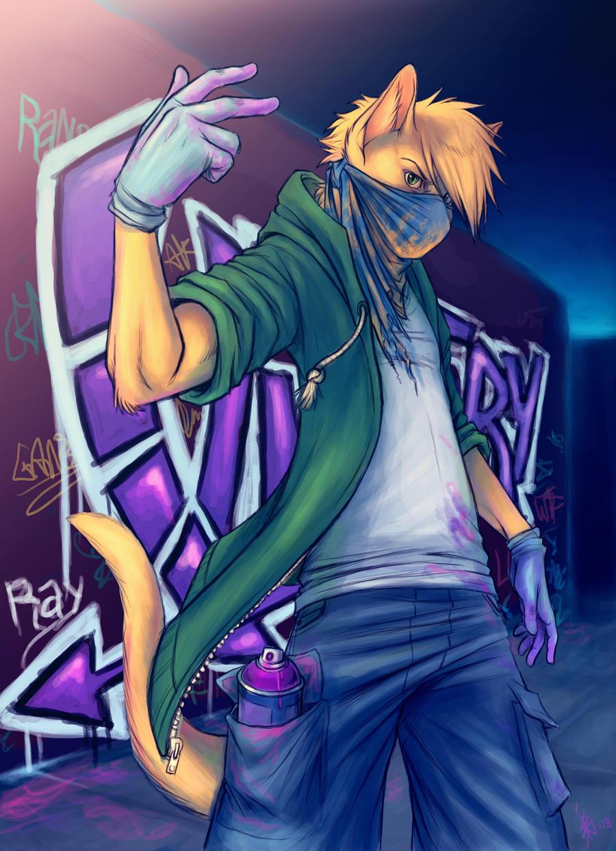 - Ray - Graffiti by oomizuao
