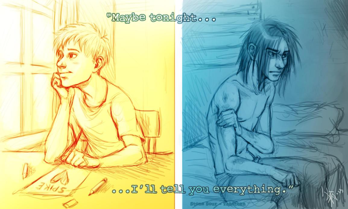 Spike and Sam - secrets by oomizuao