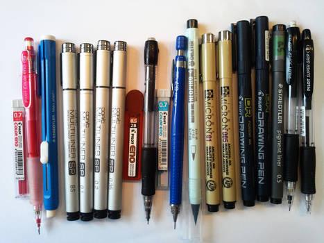 -stuff in my pencil case-